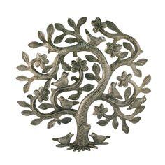 Haiti Tree of Life Metal Wall Art