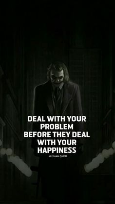 23 Joker quotes that will make you love him more Y. Joker Qoutes, Best Joker Quotes, Badass Quotes, Best Quotes, Wisdom Quotes, True Quotes, Motivational Quotes, Inspirational Quotes, The Words