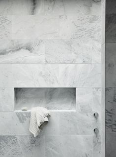Stone shower | Niche design