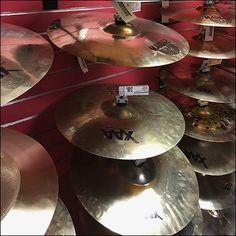 Guitar Center Metal Cymbal Slatwall Hook – Fixtures Close Up Slat Wall, Music Store, Channel, Guitar, Retail, Interior, Exhibition Ideas, Design Interiors, Interiors