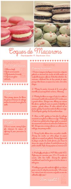 Les Gourmandises de Jelly: ♥ 052 • Coques de Macarons ♥