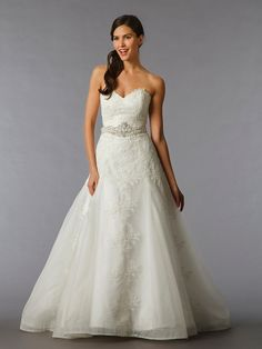 FAVORITE ♥♥♥ KleinfeldBridal.com: Eve Of Milady: Bridal Gown: 32775652: A-Line: Natural Waist