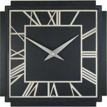 Vintage original large art deco wall clock industrial/office/cinema?? | Deco  wall, Wall clocks and Art