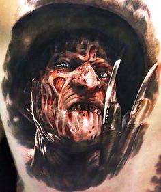 Evil Tattoos, Wicked Tattoos, 3d Tattoos, Small Tattoos, Tattoos For Guys, Tatoos, Portrait Tattoos, Tattoo Design Drawings, Tattoo Sketches