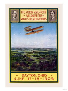 Wright Brothers' homecoming to Dayton, Ohio