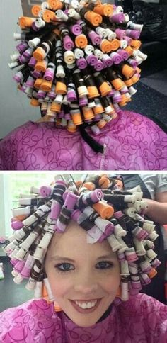 Natural Hair Care, Natural Hair Styles, Short Hair Styles, Permed Hairstyles, Twist Hairstyles, Wet Set, Marley Twists, Perm Rods, Roller Set