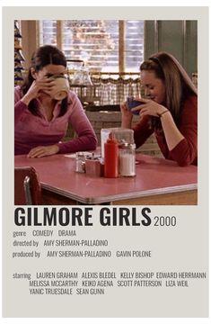 Poster Retro, Posters Vintage, Iconic Movie Posters, Iconic Movies, Gilmore Girls Poster, Gilmore Girls Movie, Gilmore Girls Lorelai, Gilmore Girls Fashion, Film Polaroid