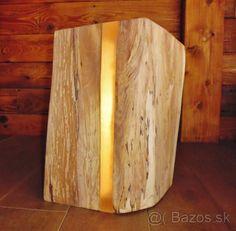 Predám lampu z dreva - 1