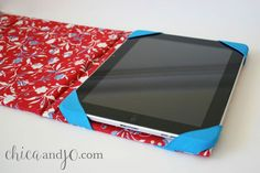 DIY custom iPad cover
