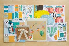 Club SEI May Paper-crafting Kit: Mini Album, Decor & Gifts