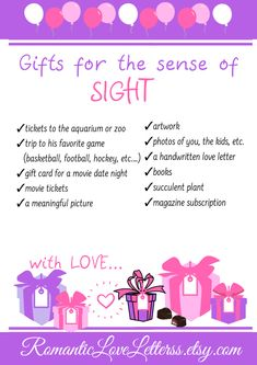 What Is The Five Senses Gift? The idea behind the 5 senses gift is brilliant. It's a gift package that's supposed to appeal to each of your partner's five senses: Taste, Touch, Sight, Smell and Sound. It's the perfect unique gift for anniversary and any o 5 Senses Gift For Boyfriend, Cute Boyfriend Gifts, Valentines Gifts For Boyfriend, Gifts For Your Boyfriend, Thoughtful Gifts For Boyfriend, Boyfriend Birthday, Diy Christmas Gifts Boyfriend, Romantic Gifts For Boyfriend, Boyfriend Ideas