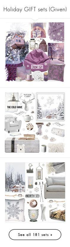 """Holiday GIFT sets (Given)"" by theseapearl ❤ liked on Polyvore featuring giftguide, besties, friendship, holidaygiftguide, polyvoresisterhood, interior, interiors, interior design, home and home decor"