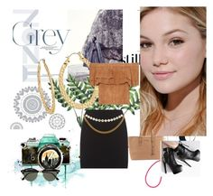 """""""OH"""" by blunted-diva ❤ liked on Polyvore featuring Neutrogena, Fragments, Michael Kors, Ray-Ban and WallPops"""