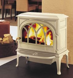 Wood Fireplaces for Sale | Jøtul F 400 Castine Wood Stove - Wood Heat