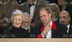 Queen Elizabeth 90th Birthday Celebration, Royal Windsor Horse Show, Berkshire, Britain - 15 May 2016 Princess Alexandra and Prince William 15 May 2016
