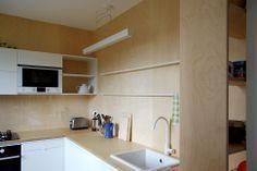 #kicthen #plywood #czech #interior