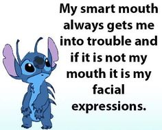 It's either one or the other! It's either one or the other! Funny Disney Memes, Disney Quotes, Funny True Quotes, Cute Quotes, Lilo And Stitch Quotes, Lelo And Stitch, Cute Stitch, Minions Quotes, Mood Quotes