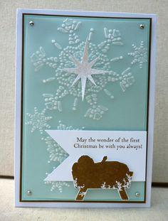 Stampin' Up! Christmas  by Amy White at White House Stamping: First Christmas...