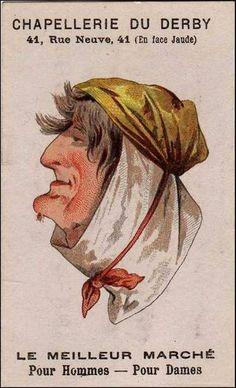 Blog de auvergnebassinauzonbrassac : Auvergne a travers les temps, Pub auvergnate: Chapellerie à Clermont-ferrand