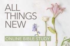 Did you hear? We just announced our next online Bible study—All Things New by Kelly Minter! Since fall is the perfect time to refocus and get back on track after those wonderfully unstructured summer days, let's set the tone for the season ahead by diving into 2 Corinthians together. Learn more and sign up for …
