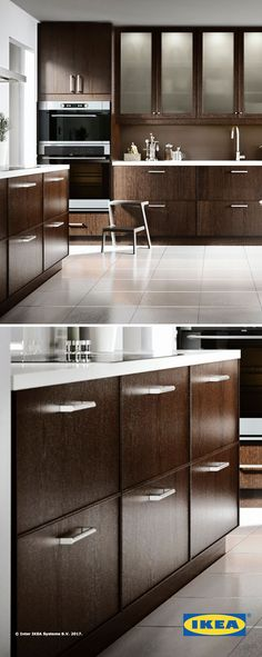 IKEA kitchen storage helps you get the most out of your kitchen. A variety of styles and sizes helps you to create the kitchen of your dreams!