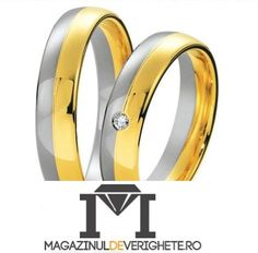 #verighete #auralb #aurgalben model MDV 85  #douaculori pentru o #nunta de vis! Wedding Rings, Engagement Rings, Model, Jewelry, Diamond, Enagement Rings, Jewlery, Jewerly, Schmuck