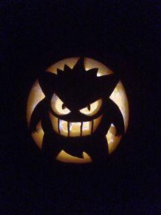 Dario Pokemon Gengar pumpkin carving 2016
