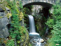 Christine Falls Mount, Washington