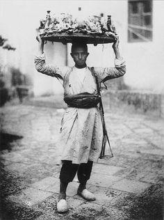 Street dealer by Antoin Sevruguin