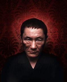 © Wahib - Takeshi Kitano / personnage / visage / photoportrait / éclairage / badass / vieux