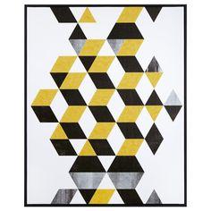 Framed Art - Honeycomb/Canvas + Framed Art/Wall Decor|Bouclair.com