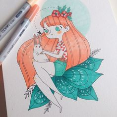 New video tutorial with Copic Markers on youtube