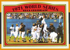 Pittsburgh Pirates Baseball, Pittsburgh Sports, 1971 World Series, Sports Baseball, Baseball Cards, Pirate Pictures, Roberto Clemente, Atlanta Braves, Trading Cards