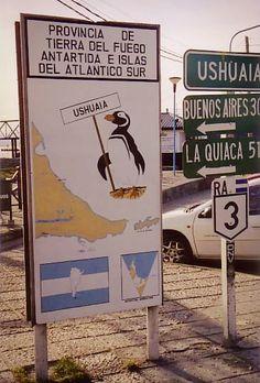 Ushuaia, 2004 - Bella ciudad, amo!!