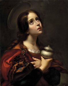 View Mary Magdalene with oil jar by Carlo Dolci on artnet. Browse upcoming and past auction lots by Carlo Dolci. Religious Pictures, Religious Art, Religious Paintings, Jesus Pictures, Santa Maria, Maria Magdalena, Marie Madeleine, Jesus Painting, Italian Painters
