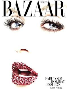 Kate Perry Lipped for Harpers Bazaar