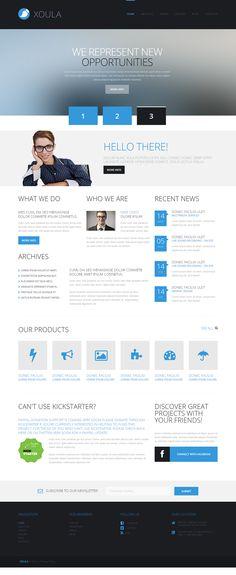 Project Development WordPress Theme
