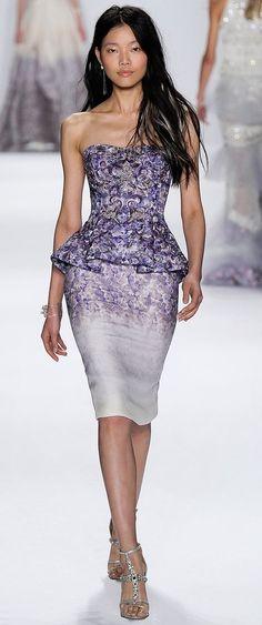 Badgley Mischka Spring 2015 Ready-to-Wear