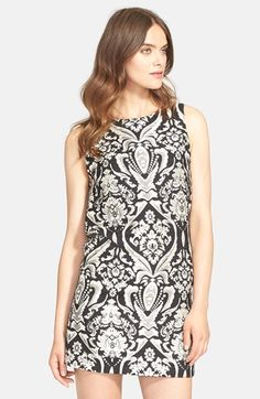 Alice + Olivia 'Clyde' Shift Dress available at #Nordstrom