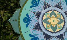 ♥ 10 - 42 cm de Mandala - Disponível para pronta entrega