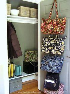 Organizing the Front Entry Coat Closet - bystephanielynn