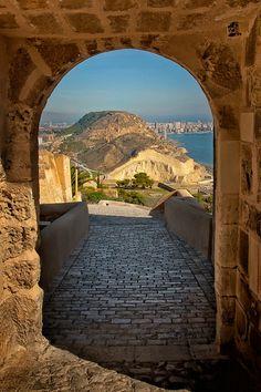 Castle view, 2 | Santa Barbara castle, Alicante Spain dates … | Flickr
