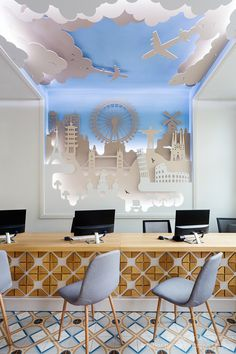 Interior photography: Travel Agency by Tuzson Design on Behance