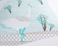 "INK+WIT 2013 ""Vortex"" letterpress calendar"