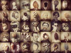 Collages + antihéroes : Passeig de Gràcia  Susana blasco