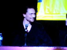 """Tom Singing """"Pure Imagination"""" by Gene Wilder and people saying how beautiful he is!"""