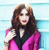 Here's Lily Collins on her photo shoot for the September issue of Seventeen Magazine #TMIMovie #film #gif