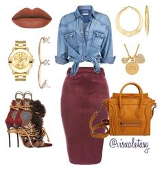 """""""Casual Outing"""" by visualxtasy ❤ liked on Polyvore featuring AX Paris, Soul Cal, Dsquared2, Ross-Simons, Movado, Delfina Delettrez and Kate Spade"""
