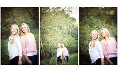 Mackenzie Lee Photography Teenage sisters family photo shoot session