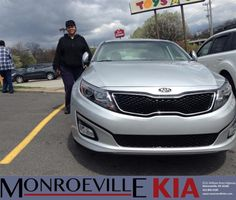 Congratulations to Falesha  Wilkins on your #Kia #Optima purchase from Adam Bundridge at Monroeville Kia! #NewCar